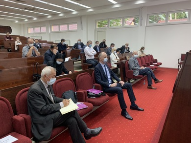 A Meeting Between the Representatives of the Business and Academic Communities Held
