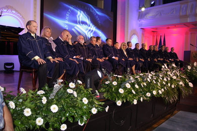 Inaugural ceremony in honour of the new Rector