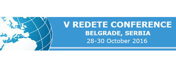 Fifth International Scientific Conference REDETE 2016