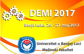 13th International Conference DEMI 2017- First call