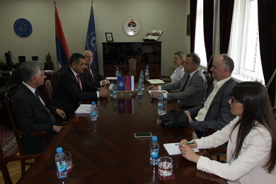 Delegation of Autonomous Province of Vojvodina visiting the University