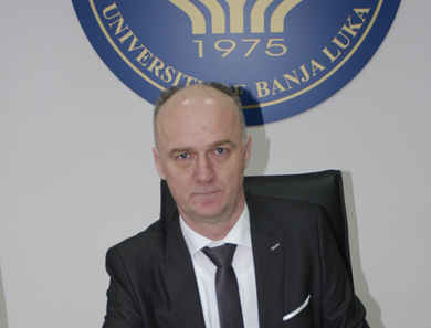 Prof. Radoslav Gajanin appointed Rector of the University of Banja Luka at the session of the Senate held on 22 March 2018