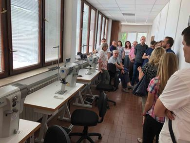 Workshop at the Faculty of Tehnology Opened