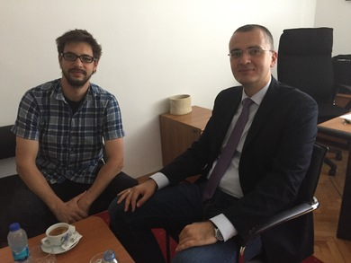 Ondrej Zila, PhD, visited the University of Banja Luka