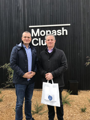 Visit to Monash University in Melbourne