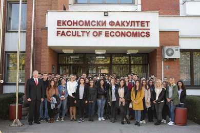 Prof. Jäger visiting the University of Banja Luka: Scholarships for 50 students