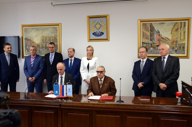 Agreement on long-term cooperation between the University of Banja Luka and the Academy of Arts and Sciences of the Republic of Srpska
