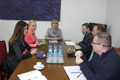 Minister of Education and Culture visited the Academy of Arts