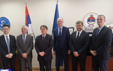 Meeting with the Ambassador of Japan: Discussing future collaborations