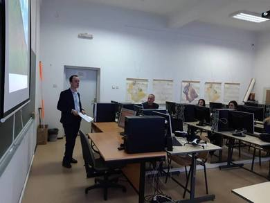 New computer lab at the Faculty of Architecture, Civil Engineering and Geodesy