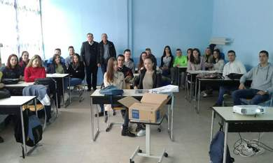 Faculty of Agriculture: Visiting high schools in East Herzegovina