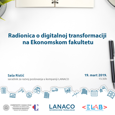 Workshop on Digital Transformation at the Faculty of Economics