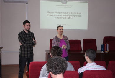 International Cooperation module integrated at the University