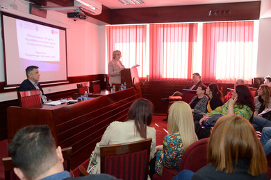 Scientific gathering at the Faculty of Political Science