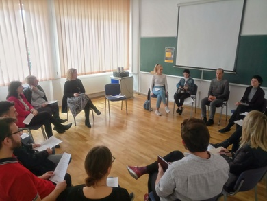 Professor from Berlin held a workshop at the Faculty of Philosophy