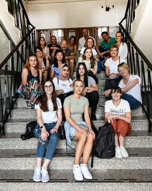 Visit of Professors and Students from Australia