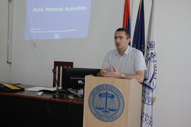 Jean Monnet Activities within the ERASMUS+ Programme Promoted