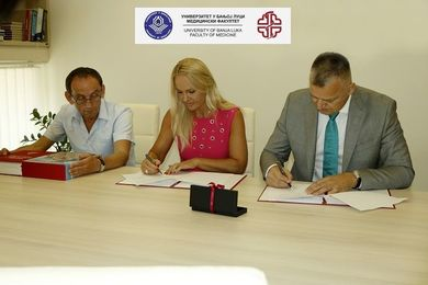 Agreement Signed With the Faculty of Medicine at University of Pristina