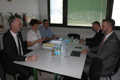 Ministers Pasalic and Rajcevic Visited the Institute for Genetic Resources
