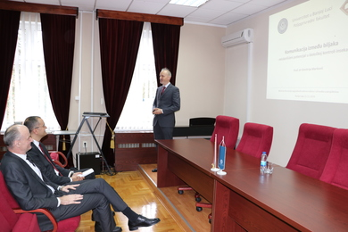 A Small Conference of Awarded Authors of Scientific Papers and Project Participants Held