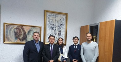 Ambassador of Japan Visited the Faculty of Natural Sciences and Mathematics