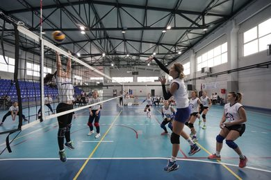 Volleyball Players of the Faculty of Physical Education Winners of the Youth for Srpska Tournament