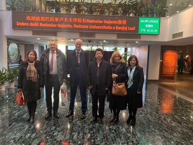 Meeting in Beijing: Full Support to the University and the Confucius Institute