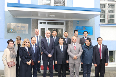 Cooperation with Tianjin Discussed