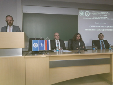 "The Conference ""Contemporary Migration Trends and Security Risks"" Held"