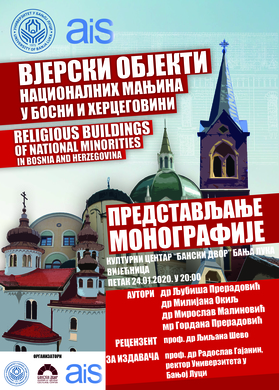 Presentation of the Monograph ,,Religious Buildings of National Minorities in Bosnia and Herzegovina''