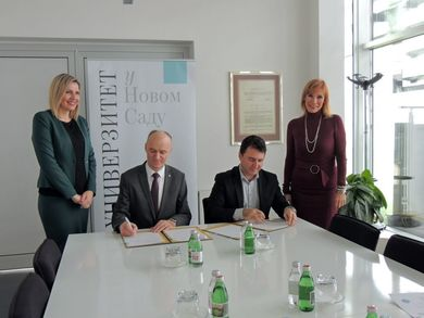 Intensification of Academic Exchange with the University of Novi Sad