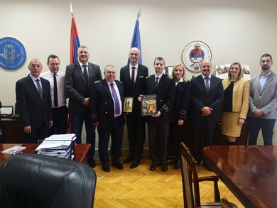 Delegation of Saint Petersburg Mining University visited the University of Banja Luka