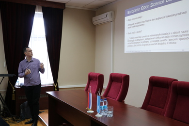 'Оpen Science and NI4OS-Europe Project' Training Held